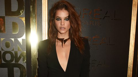 PARIS, FRANCE - OCTOBER 02:  Barbara Palvin attends the L'Oreal Paris Gold Obsession Party at Hotel de la Monnaie on October 2, 2016 in Paris, France.  (Photo by David M. Benett/Dave Benett/ Getty Images for L'Oreal Paris Gold Obsession)