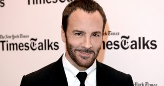 """NEW YORK, NY - NOVEMBER 18:  Tom Ford attends TimesTalks featuring Tom Ford on """"Nocturnal Animals"""" at TheTimesCenter on November 18, 2016 in New York City.  (Photo by Andrew Toth/WireImage)"""