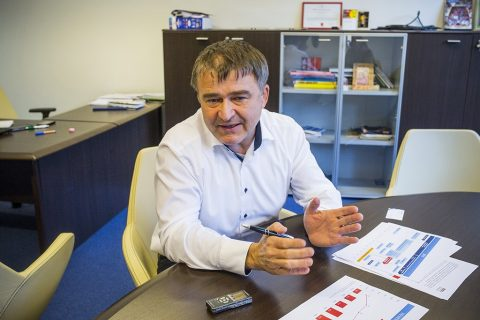 Lukács Csaba, Atmedia, MSC ügyvezető fotó: Pál Anna Viktória / 24.hu