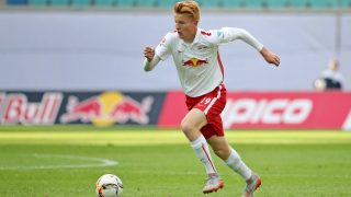 Leipzig's  Zsolt Kalmar  in action during the soccer test match RB Leipzig vs FC Ingolstadt in Leipzig, Germany, 29 July 2015. Photo: Jan Woitas/dpa