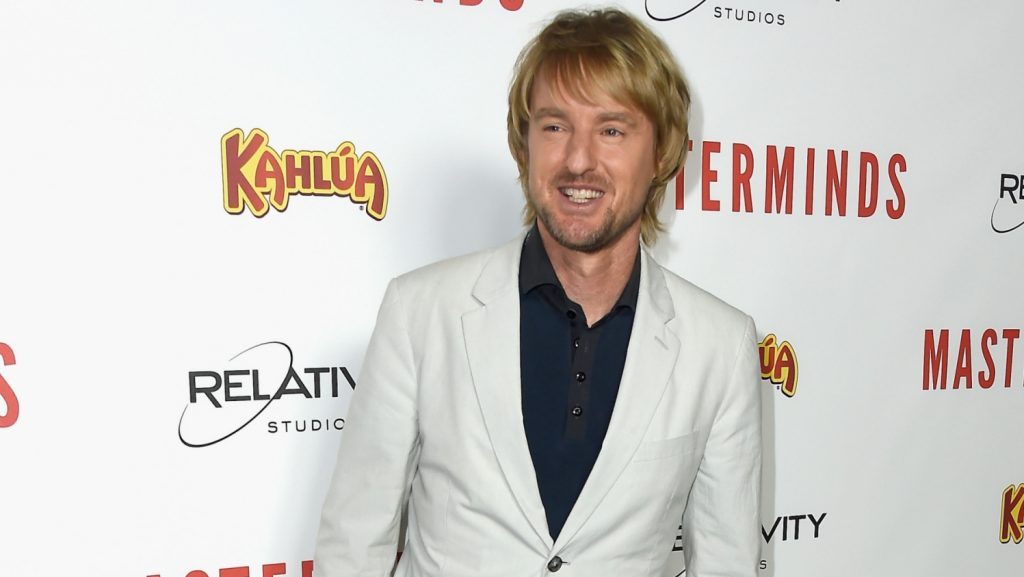 "HOLLYWOOD, CA - SEPTEMBER 26: Actor Owen Wilson arrives at the Premiere of Relativity Media's ""Masterminds"" at TCL Chinese Theatre on September 26, 2016 in Hollywood, California.   Frazer Harrison/Getty Images/AFP"