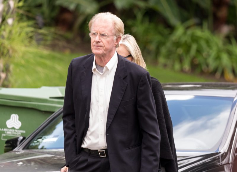 BEVERLY HILLS, CA - JANUARY 05: Actor Ed Begley Jr. arrives for a private memorial at the former residence of actress Carrie Fisher January 5, 2017 in Beverly Hills, California. Fisher, 60, died December 27, 2016 after suffering a medical emergency onboard a flight from London to Los Angeles December 23. Debbie Reynolds, Fisher's mother, died December 28, 2016 of an apparent stroke. It has been reported that a joint funeral service will be held at Forest Lawn Memorial Park in the coming days.   Greg Doherty/Getty Images/AFP