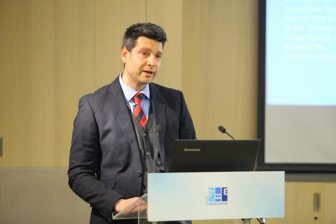Dr. Panszky Gyula, a Jogi Tagozat elnöke