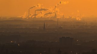 OBERHAUSEN, GERMANY - JANUARY 06: Steam and exhaust rise from different companies on a cold winter day on January 6, 2017 in Oberhausen, Germany. According to a report released by the European Copernicus Climate Change Service, 2016 is likely to have been the hottest year since global temperatures were recorded in the 19th century. According to the report the average global surface temperature was 14.8 degrees Celsius, which is 1.3 degrees higher than estimates for before the Industrial Revolution. Greenhouse gases are among the chief causes of global warming and climates change. (Photo by Lukas Schulze/Getty Images)