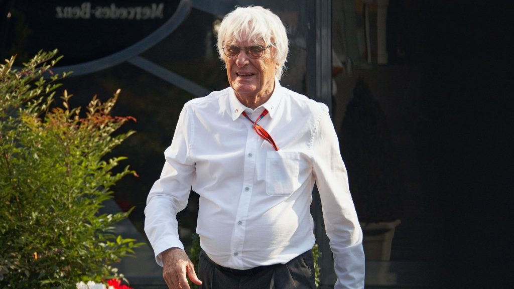 President and CEO of Formula One Management and Formula One Administration Bernie Ecclestone during the Italian Formula One Grand Prix on 4 September 2016 at the Autodromo Nazionale Monza near Monza, Italy.  (Photo by Rainer W. Schlegelmilch/Getty Images)