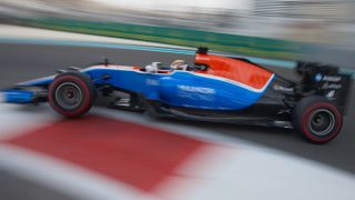 Pascal Wehrlein of Germany drives the #94 Manor Racing MRT-Mercedes MRT05 Mercedes PU106C Hybrid turbo during practice for the Abu Dhabi Formula One Grand Prix at the Yas Marina Circuit on 26 November  2016 in Abu Dhabi, United Arab Emirates. (Photo by Rainer W. Schlegelmilch/Getty Images)