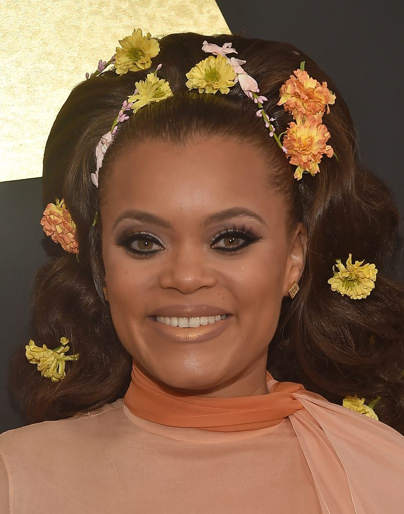 LOS ANGELES, CA - FEBRUARY 12: Singer Andra Day attends The 59th GRAMMY Awards at STAPLES Center on February 12, 2017 in Los Angeles, California.   Alberto E. Rodriguez/Getty Images for NARAS/AFP