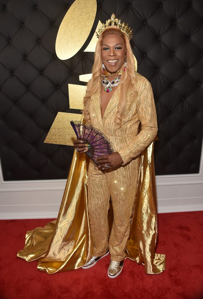 LOS ANGELES, CA - FEBRUARY 12: Hip Hop Artist Big Freedia attends The 59th GRAMMY Awards at STAPLES Center on February 12, 2017 in Los Angeles, California.   Alberto E. Rodriguez/Getty Images for NARAS/AFP