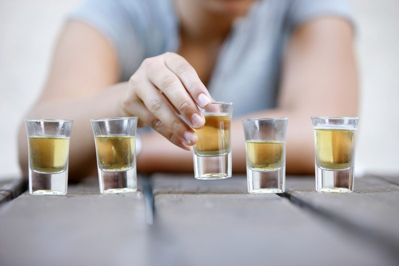 Adolescent drinking, Binge drinking. (Photo by: BSIP/UIG via Getty Images)