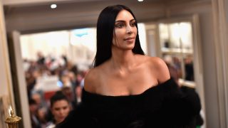 PARIS, FRANCE - SEPTEMBER 30:  Kim Kardashian West attends Buro 24/7 Fashion Forward Initiative as part  of Paris Fashion Week Womenswear Spring/Summer 2016 at Hotel Ritz on September 30, 2016 in Paris, France.  (Photo by Jacopo Raule/Getty Images)