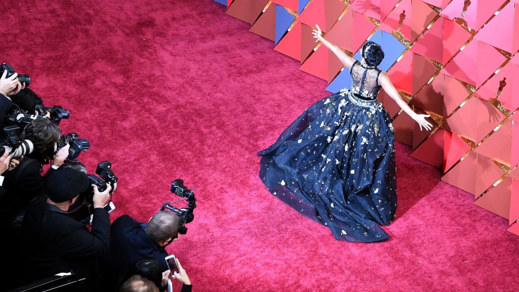 HOLLYWOOD, CA - FEBRUARY 26:  Singer/actor Janelle Monae attends the 89th Annual Academy Awards at Hollywood & Highland Center on February 26, 2017 in Hollywood, California.  (Photo by Kevork Djansezian Remote/Getty Images)