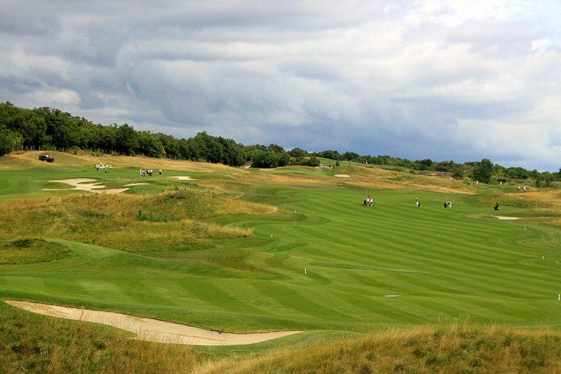 Balatonudvari, 2011. július 20.A juniorkorú Európa-bajnokság helyszíne, a balatonudvari Royal Balaton Golf&Yacht Club golfpályája. A kontinensviadalon 29 ország 103 versenyzője vesz részt.MTI Fotó: Nagy Lajos