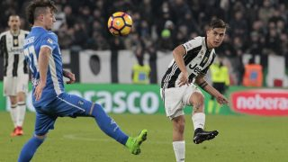 Paulo Dybala during Serie A match between Juventus v Empoli, in Turin, on February 25, 2017 (Photo by Loris Roselli/NurPhoto).