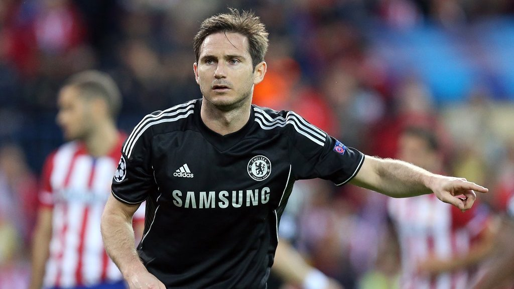 Frank Lampard of Chelsea FC during the UEFA Champions League 2013/2014 football match semi final, first leg between Atletico Madrid and Chelsea on April 22, 2014 at Vicente Calderon stadium in Madrid, Spain. Photo Manuel Blondeau / AOP Press / DPPI