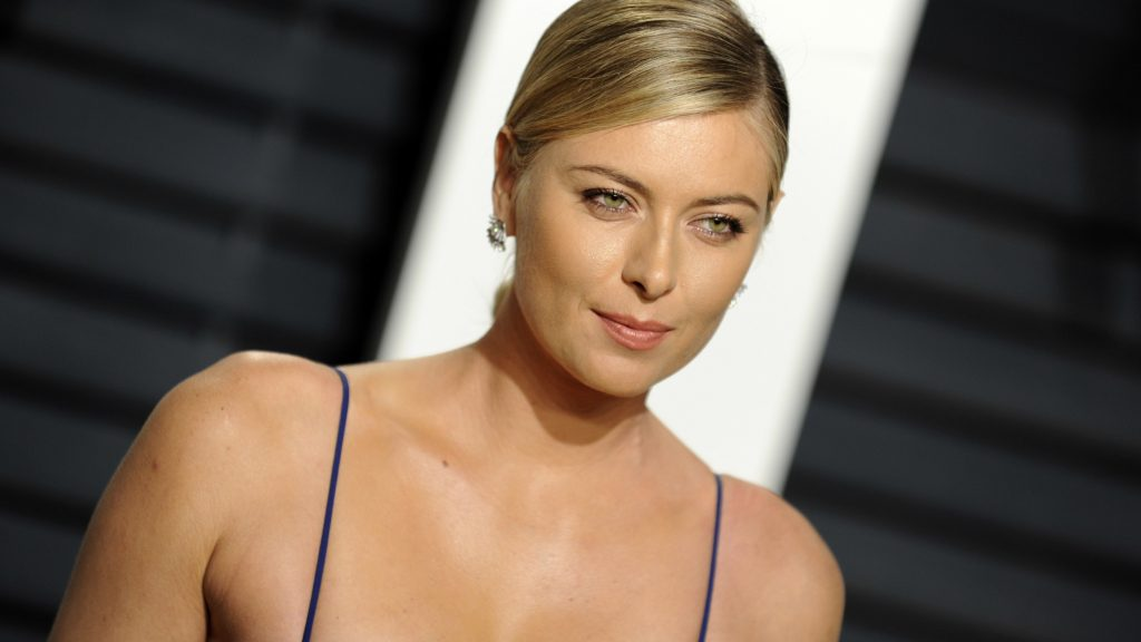 Maria Sharapova attends the 2017 Vanity Fair Oscar Party hosted by Graydon Carter at Wallis Annenberg Center for the Performing Arts on February 26, 2017 in Beverly Hills, California.   Verwendung weltweit/picture alliance