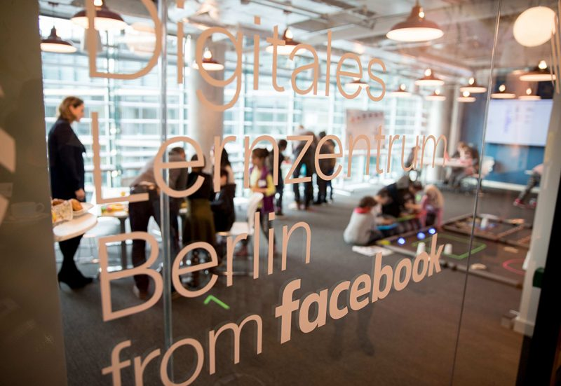 The Facebook Digitales Lernzentrum (lit. digital learning centre)is openend in Berlin,Germany, 16 Janaury 2017. The centre is to be available to organisations and projects which are engaged in promoting digital skills. Photo: Kay Nietfeld/dpa