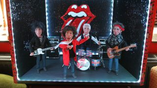 ARCHIVE - An archive image dated 27 May 2014 shows a miniature stage with the musicians from the Rock and Roll band the Rolling Stones in the Rolling Stones fan museum in Luechow, Germany. The only Rolling Stones fan museum in the world, which is operated with the official tolerance of the rockstars, is now set to expand.
