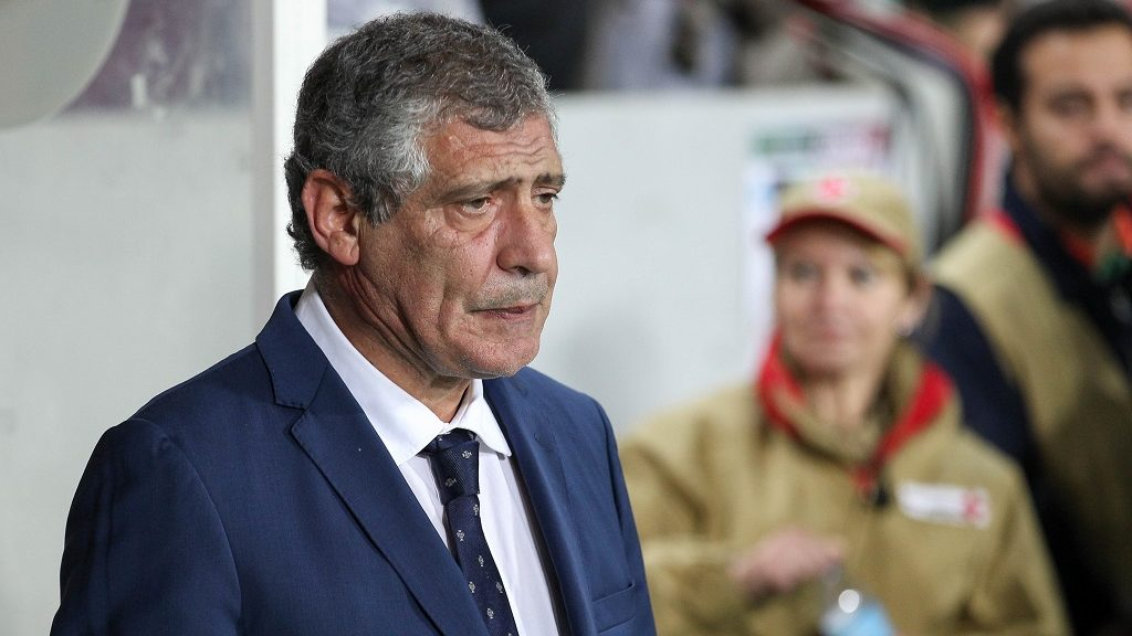 Portugals head coach Fernando Santos during the 2018 FIFA World Cup Qualifiers matches between Portugal and Latvia in Municipal Algarve Stadium on November 13, 2016 in Faro, Portugal. (Photo by Bruno Barros / DPI / NurPhoto)
