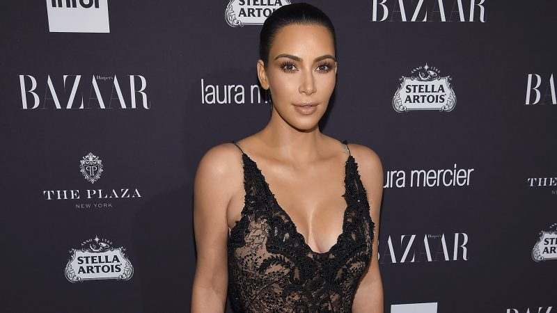 "NEW YORK, NY - SEPTEMBER 09: Kim Kardashian West attends Harper's Bazaar's celebration of ""ICONS By Carine Roitfeld"" presented by Infor, Laura Mercier, and Stella Artois at The Plaza Hotel on September 9, 2016 in New York City.   Dimitrios Kambouris/Getty Images for Harper's Bazaar/AFP"