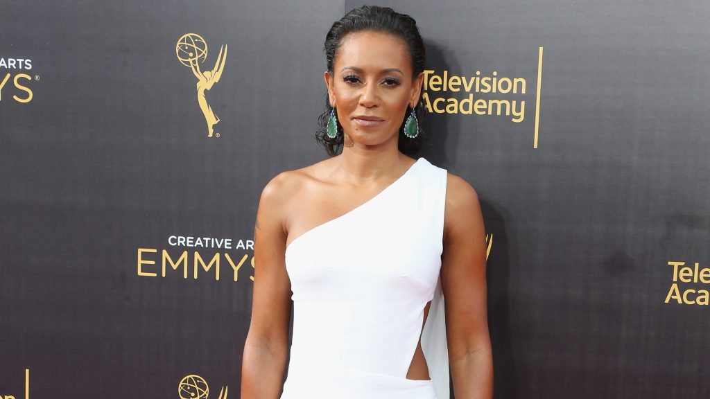 LOS ANGELES, CA - SEPTEMBER 10: TV personality Mel B attends the 2016 Creative Arts Emmy Awards at Microsoft Theater on September 10, 2016 in Los Angeles, California.   Frederick M. Brown/Getty Images/AFP