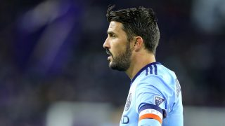 ORLANDO, FL - MARCH 05: David Villa #7 of New York City FC is seen on the field during a MLS soccer match between New York City FC and Orlando City SC at the Orlando City Stadium on March 5, 2017 in Orlando, Florida.   Alex Menendez/Getty Images/AFP