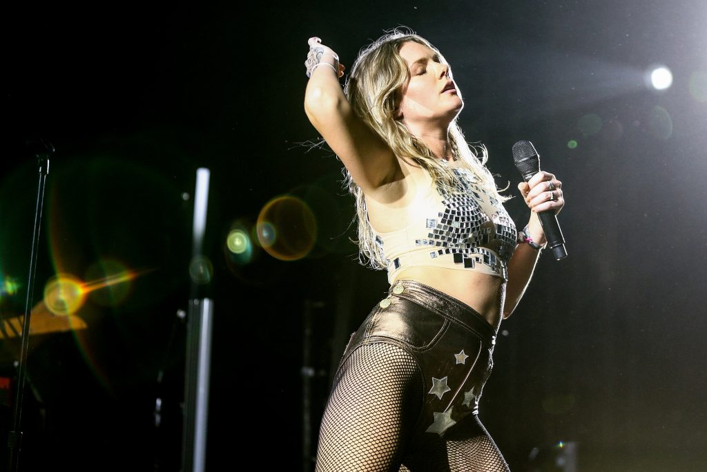INDIO, CA - APRIL 23: Singer Tove Lo performs at the Mojave Tent during day 3 of the 2017 Coachella Valley Music & Arts Festival (Weekend 2) at the Empire Polo Club on April 23, 2017 in Indio, California.   Rich Fury/Getty Images for Coachella/AFP