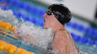 Katinka Hosszu (HUN) competes on Women's 200 m Breaststroke during the Meeting Open Mediterranée, FFN Golden Tour Camille-MUFFAT 2017, at Cercle des Nageurs in Marseille, France - Photo Stephane Kempinaire / KMSP / DPPI