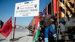 Először érkezik áruszállító vonat Kínából Budapestre