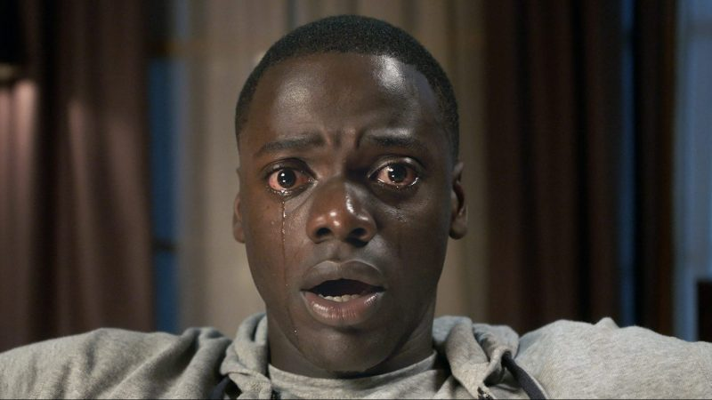 "DANIEL KALUUYA as Chris Washington in Universal Pictures' ""Get Out,"" a speculative thriller from Blumhouse (producers of ""The Visit,"" ""Insidious"" series and ""The Gift"") and the mind of Jordan Peele.  When a young African-American man visits his white girlfriend's family estate, he becomes ensnared in a more sinister real reason for the invitation."