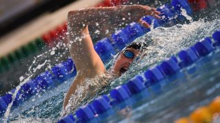Katinka Hosszu (HUN) competes on Women's 400 m Medley during the Meeting Open Mediterranée, FFN Golden Tour Camille-MUFFAT 2017, at Cercle des Nageurs in Marseille, France - Photo Stephane Kempinaire / KMSP / DPPI