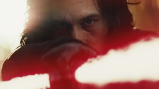 Star Wars: The Last Jedi  Kylo Ren (Adam Driver)  Photo: Film Frames Industrial Light & Magic/Lucasfilm  ©2017 Lucasfilm Ltd. All Rights Reserved.