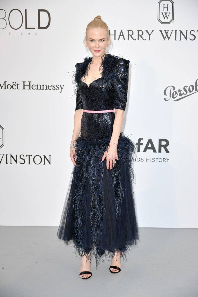 CAP D'ANTIBES, FRANCE - MAY 26: Nicole Kidman attends the Amfar Gala at Hotel du Cap-Eden-Roc in Cap d'Antibes, France on May 26, 2017.  Philip Rock / Anadolu Agency