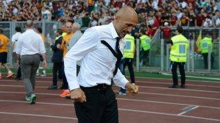 Luciano Spalletti during the Italian Serie A football match between A.S. Roma and F.C. Genoa at the Olympic Stadium in Rome, on may 28, 2017. (Photo by Silvia Lore/NurPhoto)