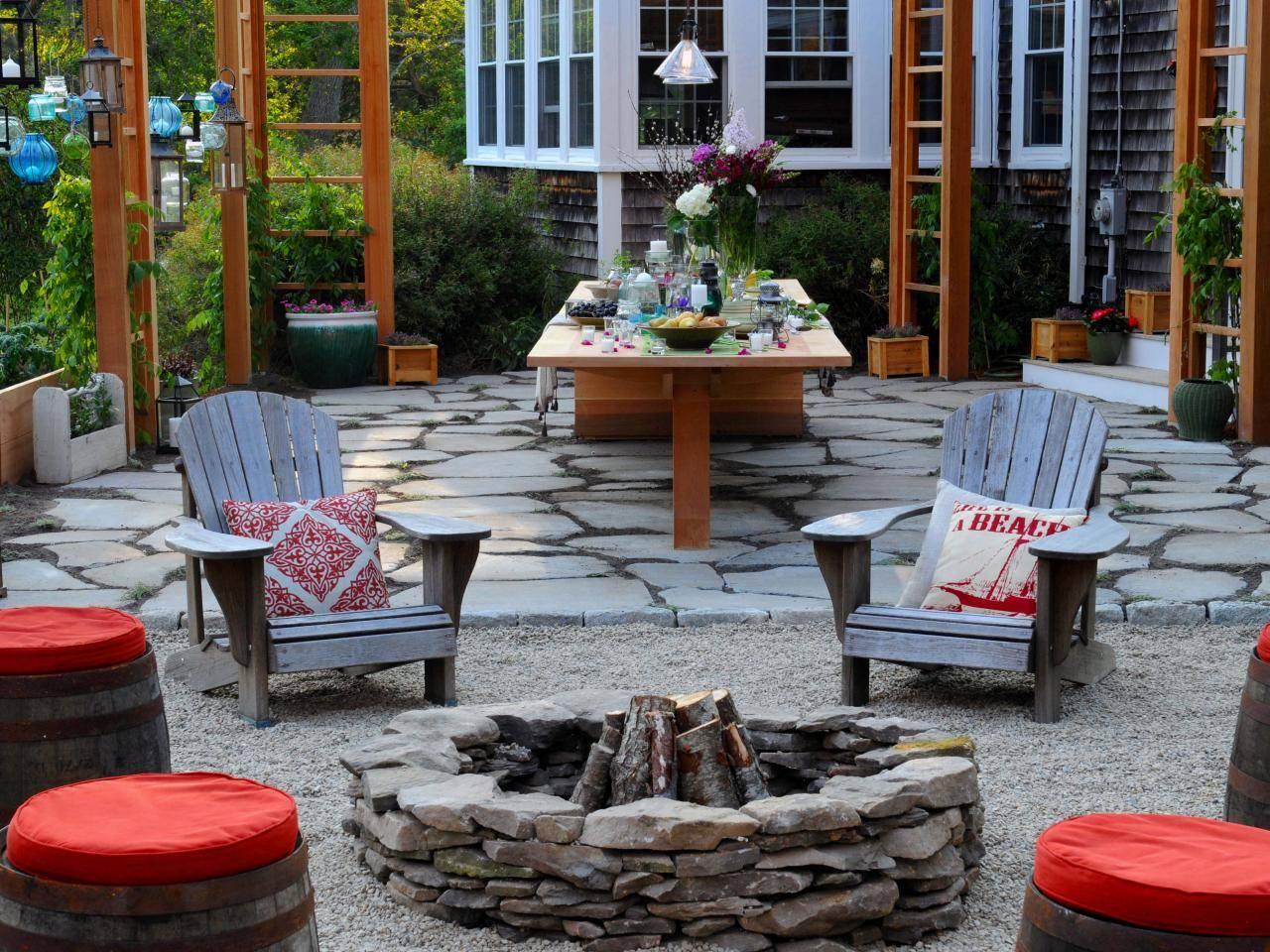 23 praktika és ötlet a látványos kerti tűzhelyek