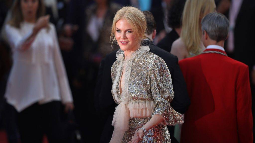 CANNES, FRANCE - MAY 21:  Nicole Kidman departs after the 'How To Talk To Girls At Parties' screening during the 70th annual Cannes Film Festival at on May 21, 2017 in Cannes, France.  Celebrities, fans and the movie world have descended on Cannes for this year's festival of the screen. For seventy years The Croisette Boulevard has always been the centre of athe place watch the rich and dandy and people from all walks of life to promenade.  (Photo by Christopher Furlong/Getty Images)