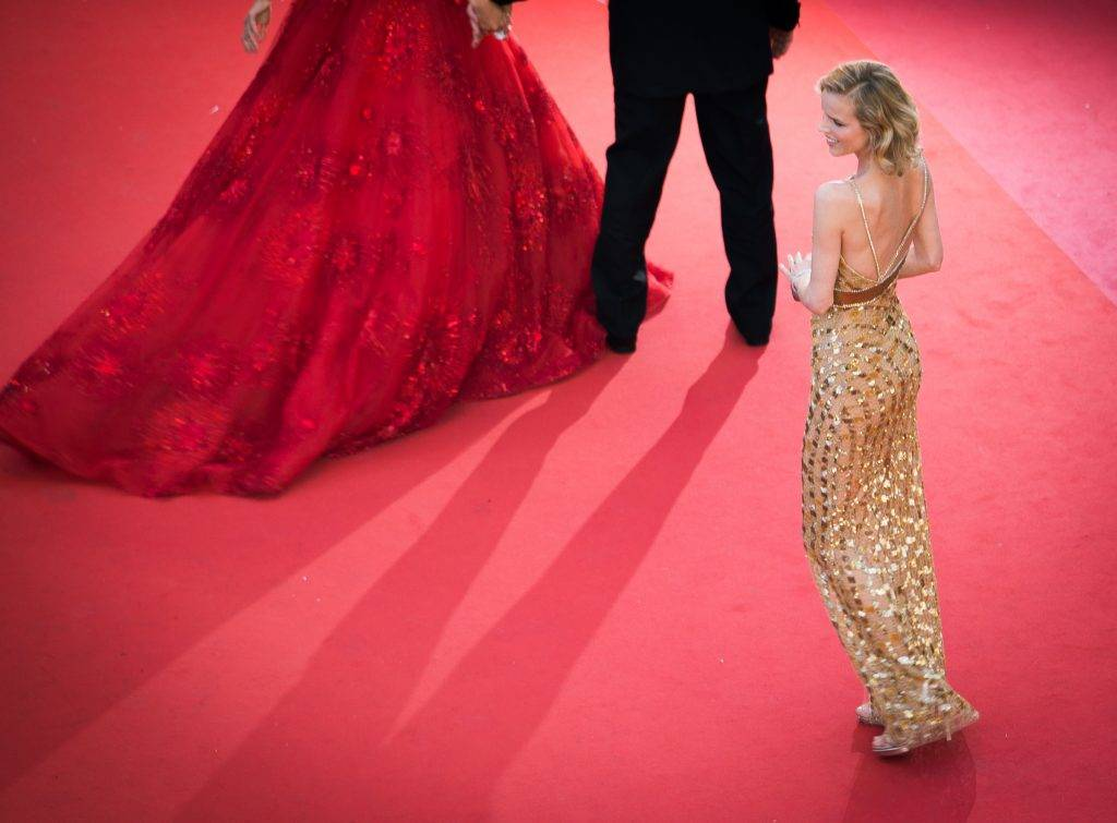 """CANNES, FRANCE - MAY 17:  (EDITORS NOTE: This image was processed with digital filters) Eva Herzigova attends the """"Ismael's Ghosts (Les Fantomes d'Ismael)"""" screening and Opening Gala during the 70th annual Cannes Film Festival at Palais des Festivals on May 17, 2017 in Cannes, France.  (Photo by Francois Durand/Getty Images)"""