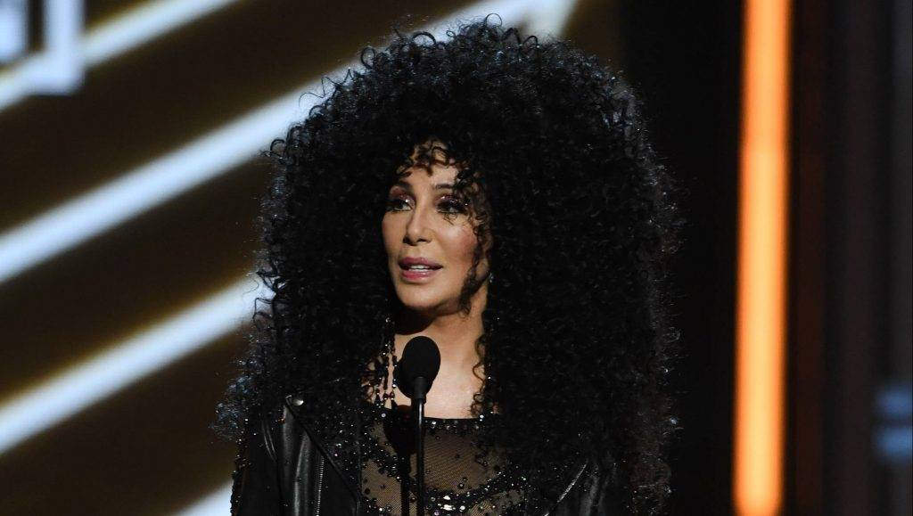 LAS VEGAS, NV - MAY 21:  Honoree Cher accepts the Billboard Icon Award onstage during the 2017 Billboard Music Awards at T-Mobile Arena on May 21, 2017 in Las Vegas, Nevada.  (Photo by Ethan Miller/Getty Images)
