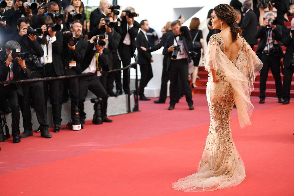 """CANNES, FRANCE - MAY 22: Eva Longoria attends the """"The Killing Of A Sacred Deer"""" screening during the 70th annual Cannes Film Festival at Palais des Festivals on May 22, 2017 in Cannes, France.  (Photo by Pascal Le Segretain/Getty Images)"""