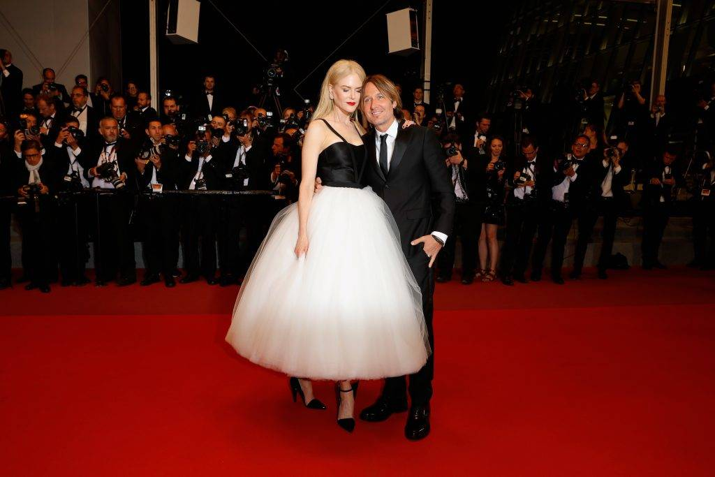 """CANNES, FRANCE - MAY 22:  Nicole Kidman and Keith Urban depart after the """"The Killing Of A Sacred Deer"""" screening during the 70th annual Cannes Film Festival at Palais des Festivals on May 22, 2017 in Cannes, France.  (Photo by Andreas Rentz/Getty Images)"""