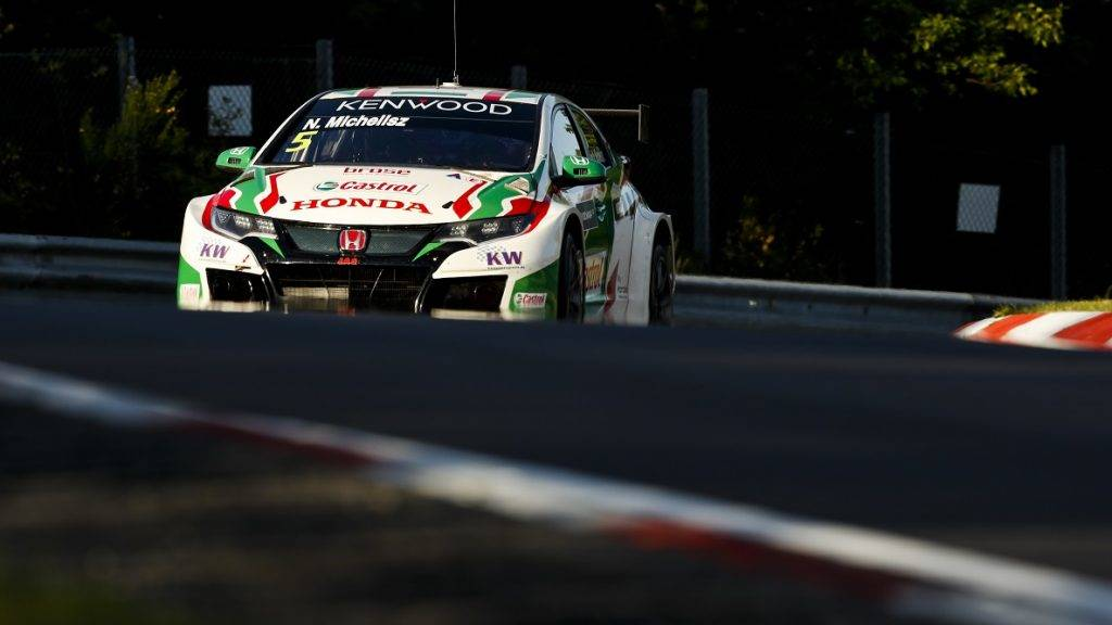 05 MICHELISZ Norbert (hun), Honda Civic team Castrol Honda WTC, action during the 2017 FIA WTCC World Touring Car Race of Nurburgring, Germany from May 26 to 28 - Photo Florent Gooden / DPPI