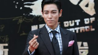 "Singer and actor Choi Seung-hyun, better known by his stage name T.O.P, of South Korean boy band Bigbang (Big Bang), arrives at a press conference for his new movie ""Out of Control"" in Shanghai, China, 14 June 2016."