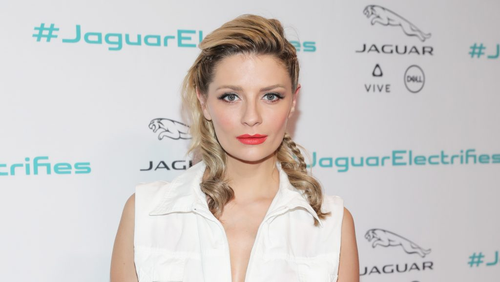 LOS ANGELES, CA - NOVEMBER 14: Actress Mischa Barton at the Jaguar Concept reveal, ahead of its global debut at the Los Angeles Auto Show, at MILK Studios in Los Angeles, California.   Neilson Barnard/Getty Images for Jaguar Land Rover/AFP
