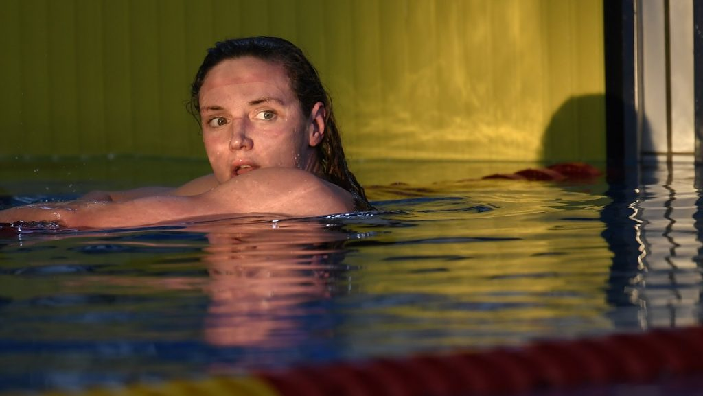 Katinka Hosszu (HUN) competes on Women's 1500 M Freestyle during the Meeting Amiens, FFN Golden Tour Camille-MUFFAT 2017, France, on April 28-30, 2017 - Photo Stephane Kempinaire / KMSP / DPPI