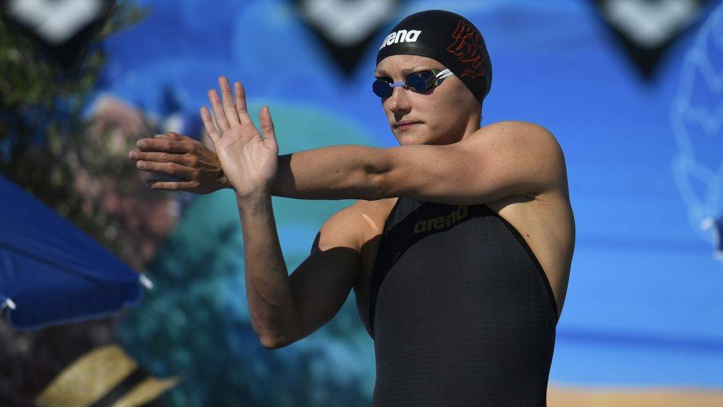 Katinka Hosszu (HUN) competes on Women's 100 m Butterfly during the Mare Nostrum, International Meeting of Canet-en-Roussilon, France, on June 17-18, 2017 - Photo Stephane Kempinaire / KMSP / DPPI