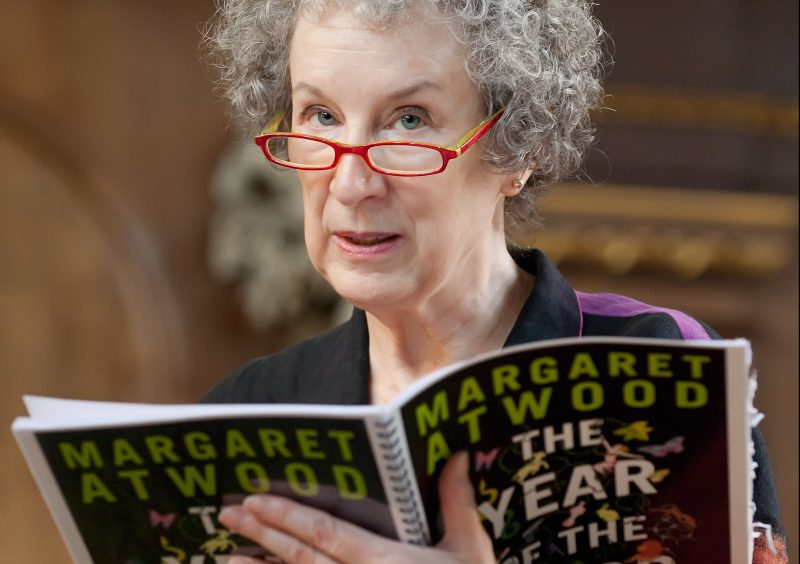 LONDON, ENGLAND - SEPTEMBER 03:  Canadian author Margaret Atwood attends a photocall for 'The Year Of The Flood' performance on September 3, 2009 in London, England.  (Photo by Marco Secchi/Getty Images)