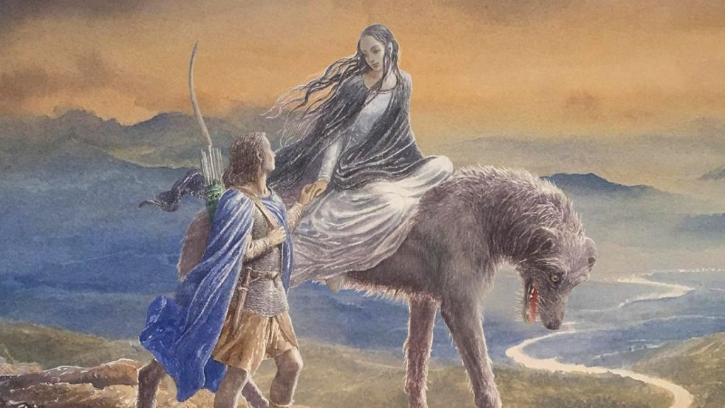 <em>The Tale of Beren and Lúthien</em>, by J.R.R. Tolkie