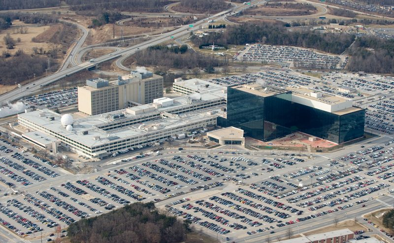 (FILES) This file photo taken on January 29, 2010 shows the National Security Agency (NSA) headquarters at Fort Meade, Maryland.A top secret National Security Agency document shows that hackers from Russian military intelligence tried repeatedly to break into US voting systems before last year's presidential election, The Intercept reported on June 5, 2017. / AFP PHOTO / SAUL LOEB