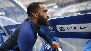 France's forward Alexandre Lacazette during the Friendly Game football match between France and England on June 13, 2017 at the Stade de France in Saint-Denis, France - Photo Benjamin Cremel / DPPI