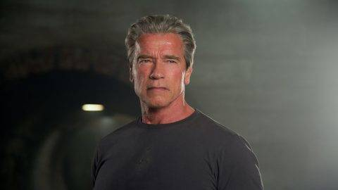 Terminator Genisys Year : 2015 USA Director : Alan Taylor Arnold Schwarzenegger Photo: Melinda Sue Gordon. It is forbidden to reproduce the photograph out of context of the promotion of the film. It must be credited to the Film Company and/or the photographer assigned by or authorized by/allowed on the set by the Film Company. Restricted to Editorial Use. Photo12 does not grant publicity rights of the persons represented.