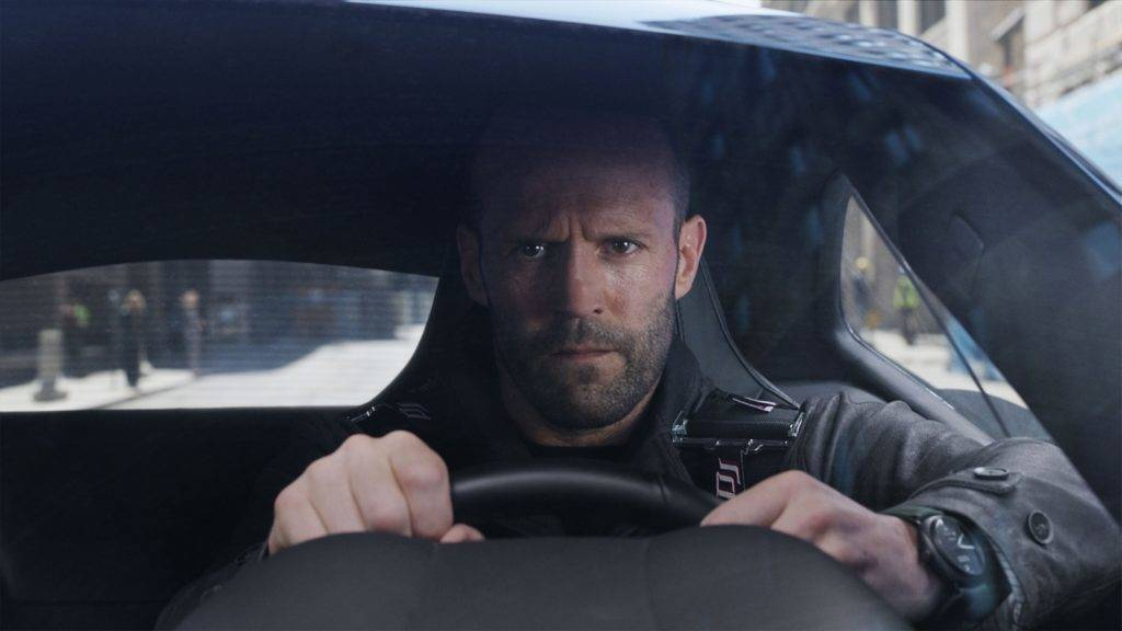 FAST AND FURIOUS 8   2017 real F. Gary Gray Jason Statham. COLLECTION CHRISTOPHEL  © Universal Pictures